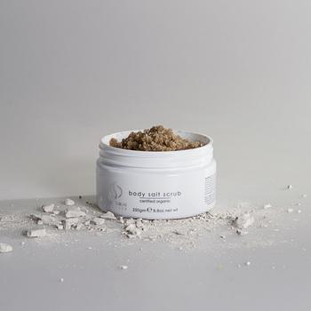 Body salt scrub 100% Natuurlijk 99% Biologisch